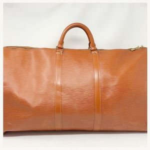 Authentic Louis Vuitton Epi Keepall 60